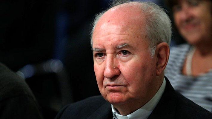 Vaticano confirma salida de cardenal Errázuriz de consejo asesor del Papa Francisco
