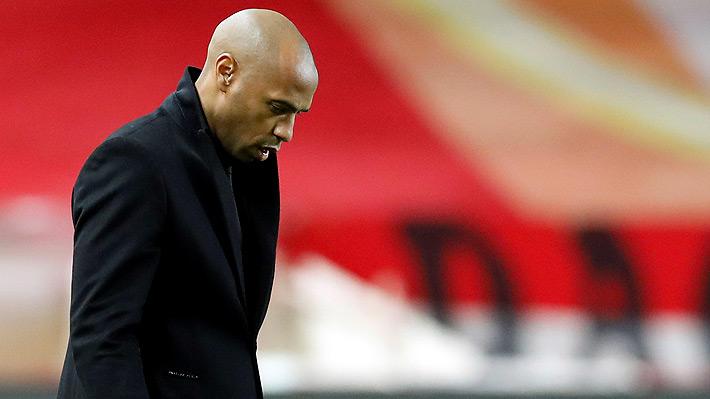 La nefasta estadística que registra Thierry Henry desde que asumió como entrenador del Mónaco
