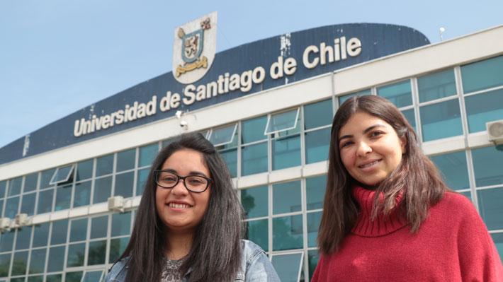 Alumnos de la U. de Santiago votan para elegir nueva federación: Por primera vez dos mujeres disputan la presidencia