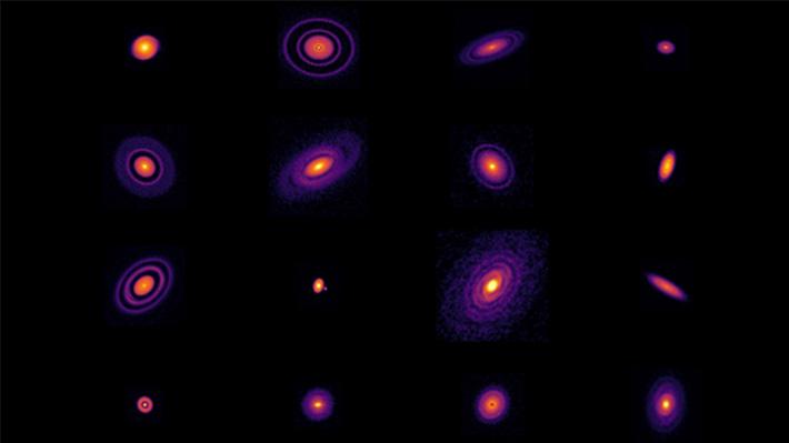 Telescopio ubicado en Chile es fundamental para el estudio de discos protoplanetarios