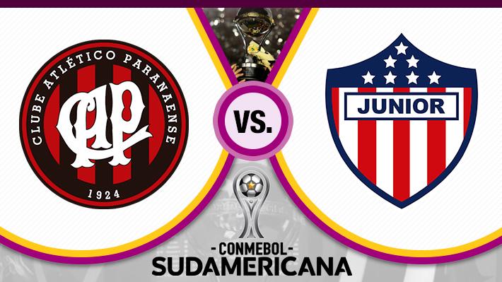 Repase el triunfo por penales de Atlético Paranaense sobre Junior en la final de la Copa Sudamericana