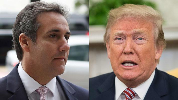 """Trump por sentencia a su ex abogado: """"Nunca le ordené que infringiera la ley"""""""