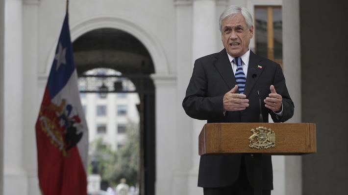 """COP25 en Chile: Piñera destaca """"reconocimiento"""" y asegura que aspirará a un """"mayor control del cambio climático"""""""