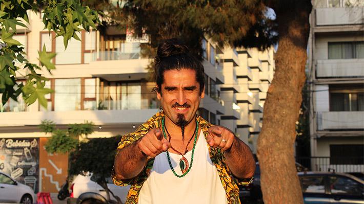 Karcocha, el arlequín chileno que alcanzó la fama molestando