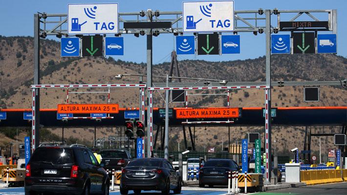 """MOP da inicio al """"free flow"""" en la Ruta 68 que conecta Santiago con Valparaíso y Viña del Mar"""