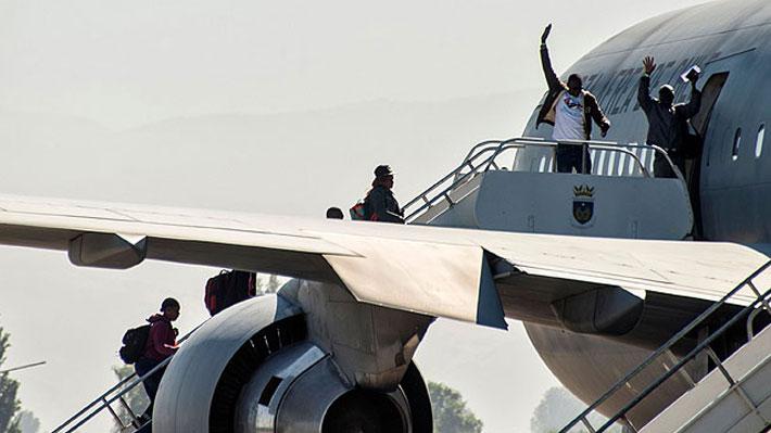 Plan retorno a Haití: Esta mañana despega tercer vuelo y más de 50 chilenos serán recogidos en Caracas
