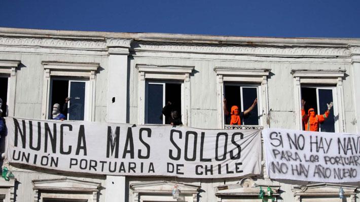 A un mes del tenso paro en Valparaíso: La cronología del conflicto portuario de los trabajadores eventuales