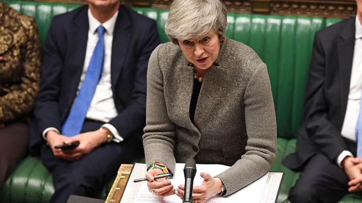 Theresa May reúne a su Gobierno para evaluar un Brexit sin acuerdo