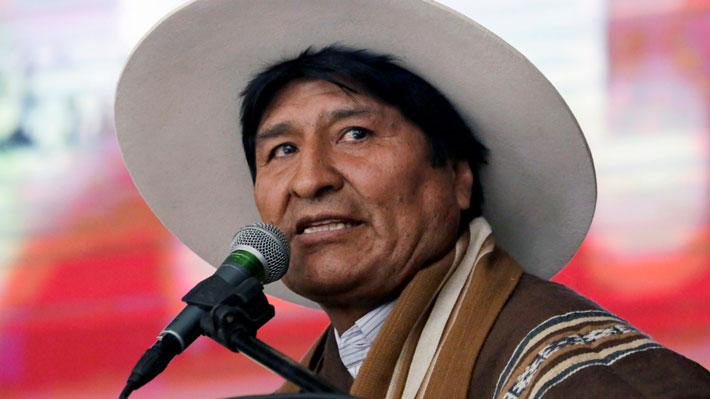 """Evo Morales rechaza pedido de EE.UU. en contra de su reelección y denuncia """"injerencia"""""""