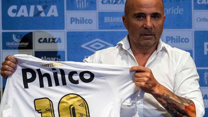 """Sampaoli explica por qué decidió ir al Santos y confiesa el """"dolor"""" que aún siente por su fracaso con Argentina"""