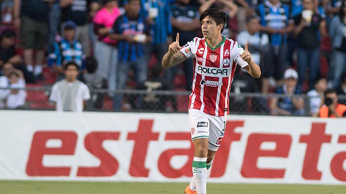 Víctor Dávila se va al Pachuca en un monto récord y se mete en el top ten de los traspasos más caros de futbolistas chilenos