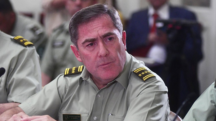 """General Soto dice que nuevo video en caso Catrillanca """"nos toma por sorpresa"""" y descarta renunciar"""