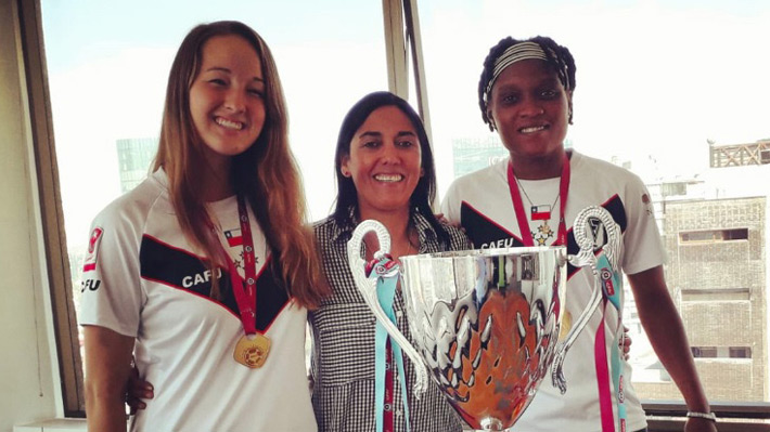 Las increíbles historias de las haitianas y la norteamericana campeonas del fútbol femenino con Santiago Morning