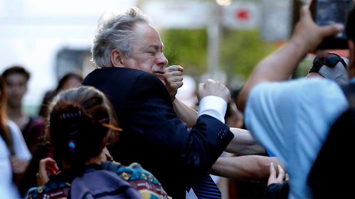 """Gobierno condenó el """"cobarde"""" ataque: Agreden al presidente del Tribunal Constitucional"""