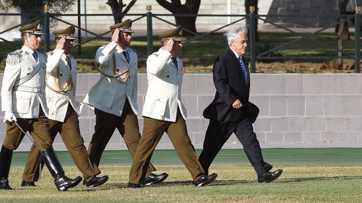 Piñera pide renuncia del general Soto e informa que otros 10 miembros del alto mando dejan Carabineros