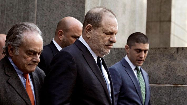 Harvey Weinstein irá a juicio por cinco cargos de violación y asalto sexual