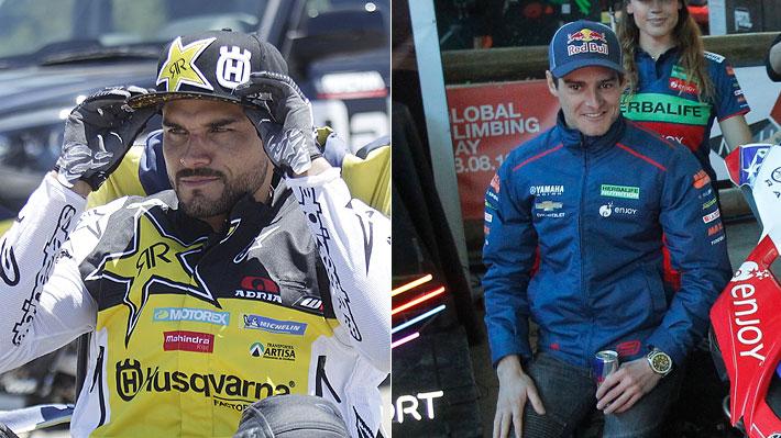 Con Quintanilla liderando las motos y Casale en un UTV: Quiénes son los 18 pilotos chilenos confirmados para el Dakar