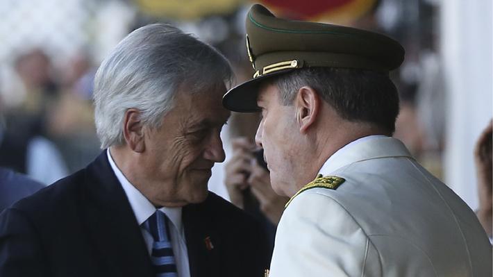 Revisa el decreto que elaboró el Presidente Piñera para que el Congreso se informe de la salida del general Hermes Soto