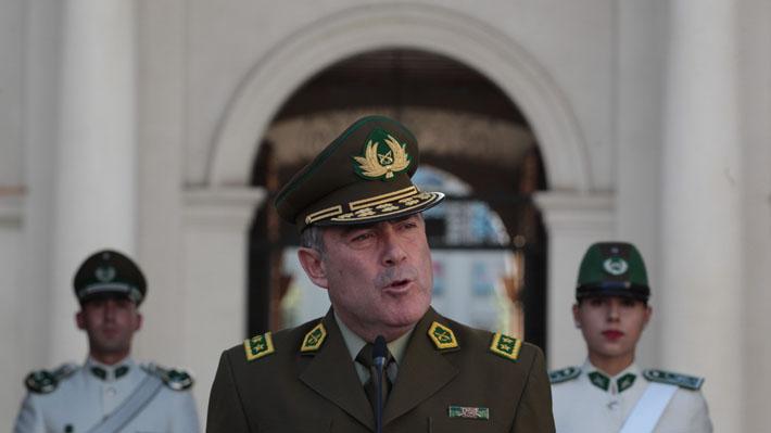 Contraloría recibe el decreto en que el Presidente anuncia la remoción del general Soto de Carabineros