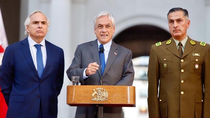 Tras salida de Soto, Piñera designa a Mario Rozas como nuevo general director de Carabineros