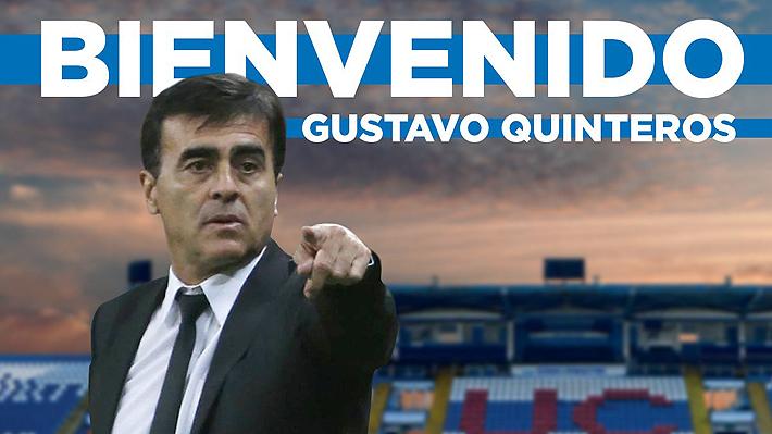 Sorpresa: Universidad Católica presenta al argentino Gustavo Quinteros como nuevo entrenador del equipo