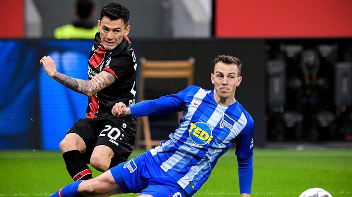 Charles Aránguiz destacó con dos asistencias en victoria del Bayer Leverkusen por la Bundesliga