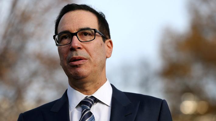 Secretario del Tesoro de EE.UU. contacta a principales banqueros del país para transmitir confianza sobre la economía