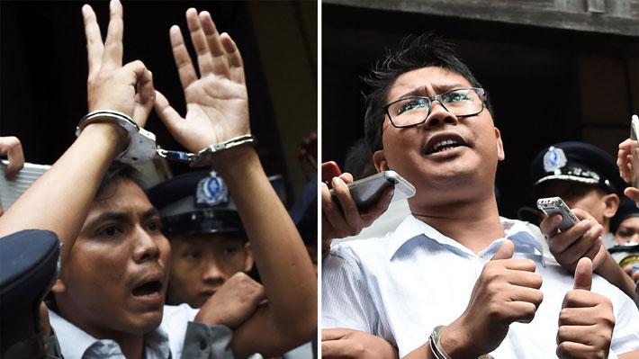 Periodistas de Reuters presos en Myanmar apelan a su sentencia de siete años de cárcel