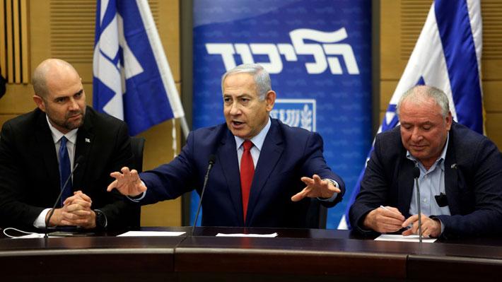 Netanyahu fija elecciones anticipadas para el 9 de abril ante falta de respaldo en el Congreso israelí