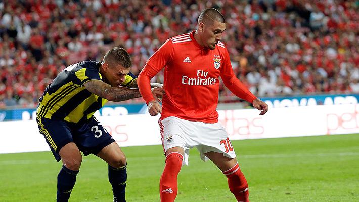 """La razón por la que Nicolás Castillo estaría """"cortado"""" por su DT y con la que acrecienta su mal momento en el Benfica"""