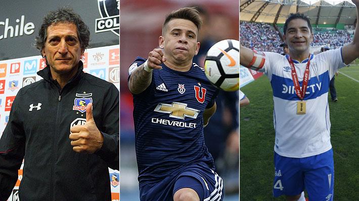 El panorama de Colo Colo, U. de Chile y la UC para 2019: Quiénes han llegado, posibles refuerzos y los que se han ido