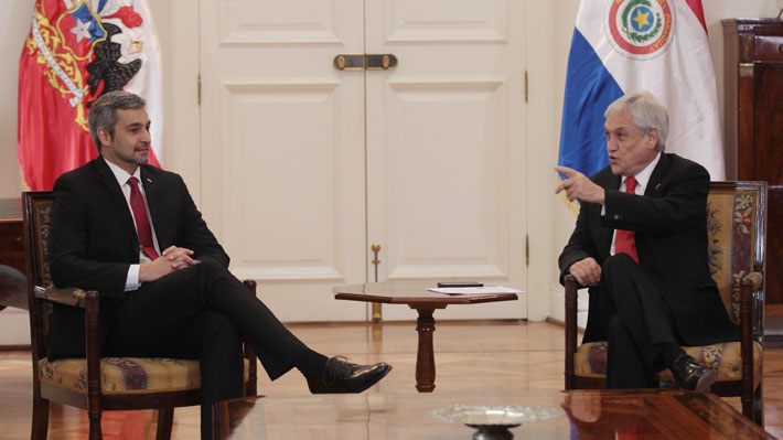 Piñera sostendrá bilateral con Presidente de Paraguay en vuelo a toma de posesión de Bolsonaro