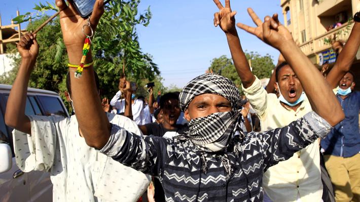 Protestas por el alza del precio del pan en Sudán dejan 18 muertos en ocho días