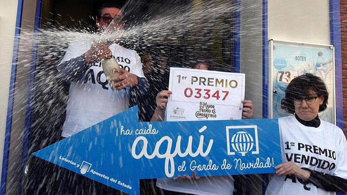 Español de 84 años ganó 400 mil euros en la Lotería de Navidad y falleció tres días después