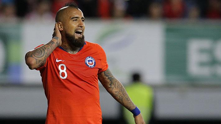 """Vidal dice que él no debe """"reconciliarse"""" con nadie en la """"Roja"""" y afirma: """"Si Bravo o Díaz son llamados, bienvenidos sean"""""""