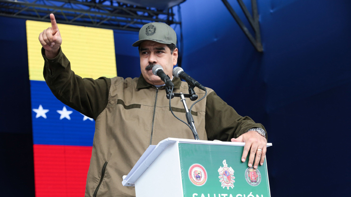 """Maduro pide a la Fuerza Armada venezolana estar alerta ante """"traidores"""""""
