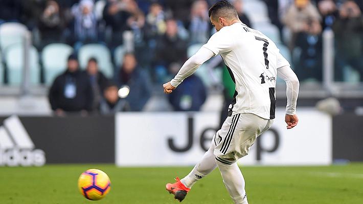 Mira el doblete de Cristiano Ronaldo que le dio el triunfo a la Juventus ante la Sampdoria por el Calcio