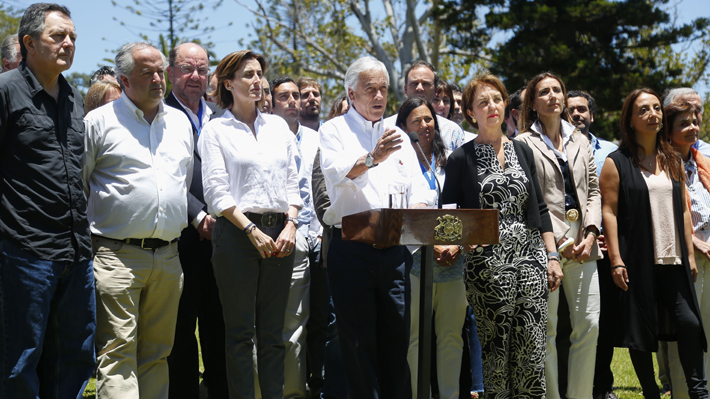 Gobierno de Piñera cierra el año con nota 4,3 según encuesta Cadem