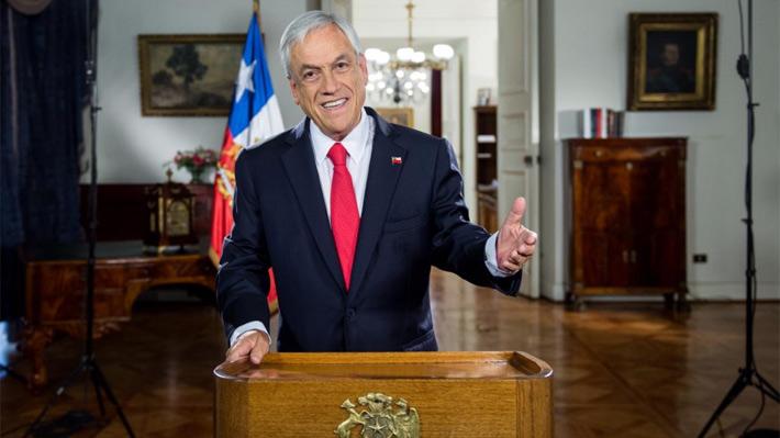 """Piñera destaca logros de primer año y reitera llamado a la """"unidad"""" para resolver los """"grandes problemas"""" del país"""