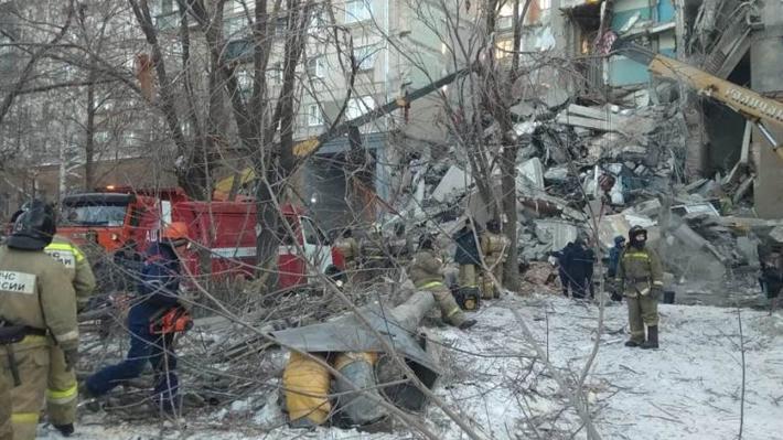 Al menos tres muertos y más de 70 desaparecidos en una explosión de gas en Rusia