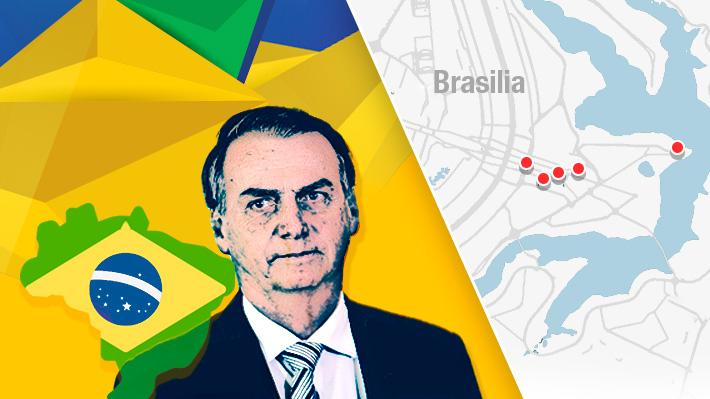 El paso a paso de la asunción de Jair Bolsonaro: Así será la jornada de cambio de mando en Brasil