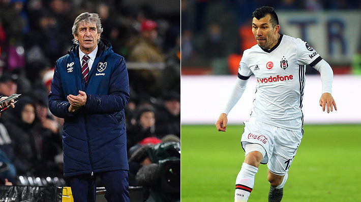 Aseguran que Medel quiere reunirse con Pellegrini en el West Ham y que el Besiktas está dispuesto a venderlo