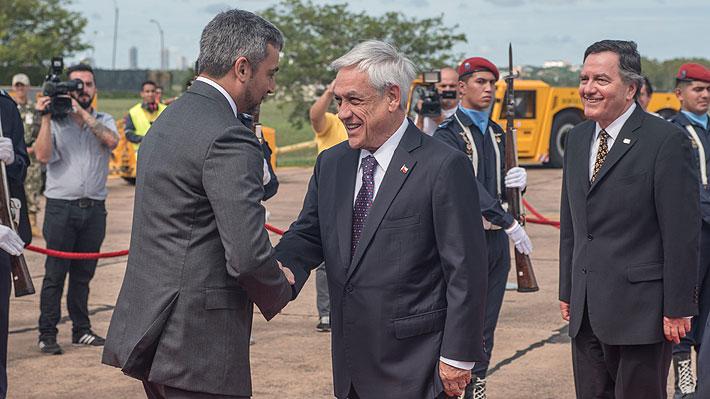 """Presidentes Piñera y Abdo confían en Bolsonaro para """"construir juntos proyectos responsables"""""""