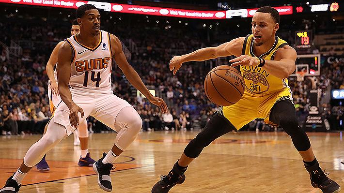 NBA: Stephen Curry y Kevin Durant encabezan exhibición de los Warriors en sólido triunfo sobre los Suns