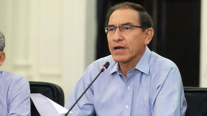 Presidente de Perú presentará proyecto de ley para declarar en emergencia al Ministerio Público