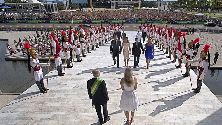 Galería: Las imágenes de la llegada de Jair Bolsonaro a la presidencia de Brasil
