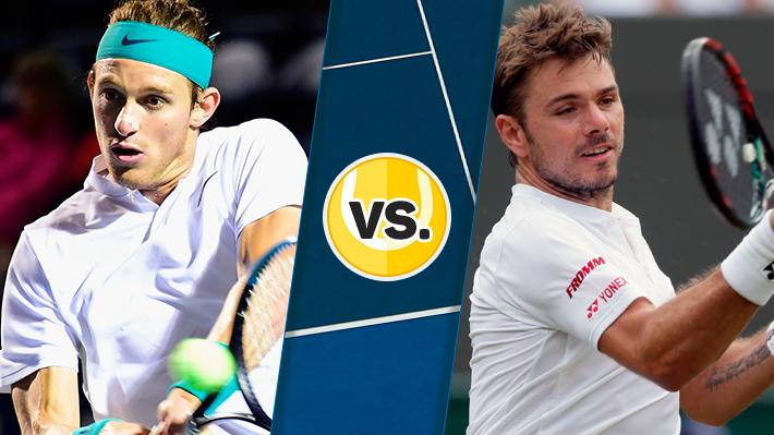 Repase la derrota de Jarry ante un sólido Wawrinka en octavos del ATP de Doha