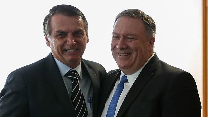 Bolsonaro le confirma a EE.UU. que Brasil se saldrá del Pacto Migratorio de la ONU