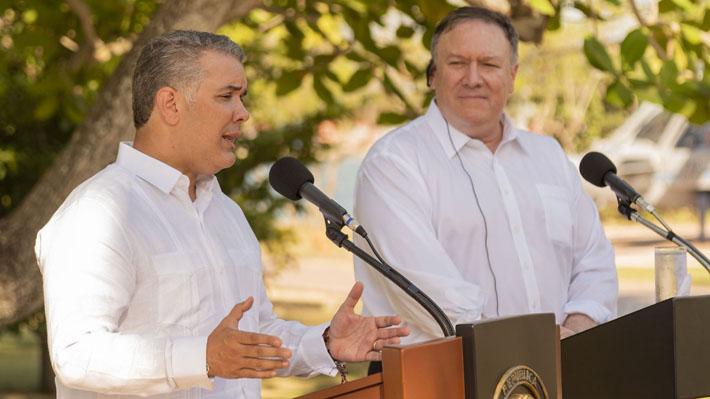 Colombia y EE.UU. acuerdan seguir liderando oposición a Maduro en la región