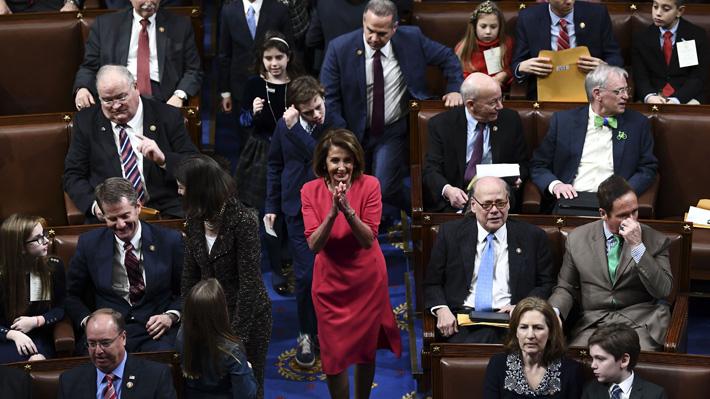 Congreso de EE.UU. inicia nuevo periodo con los demócratas al mando de la Cámara Baja